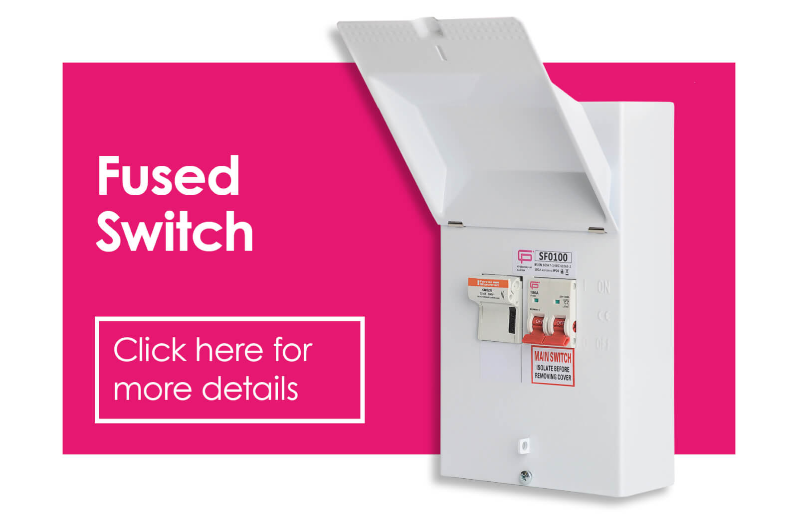 FUSEBOX Fused Switch